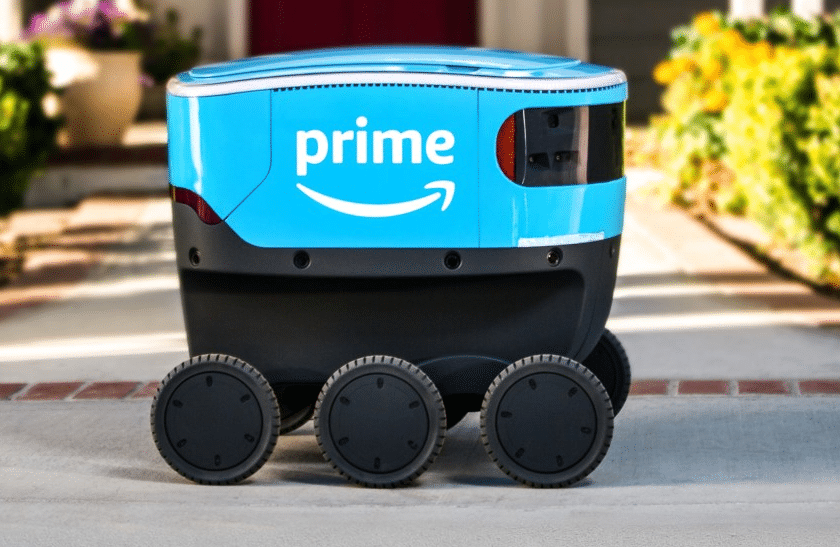 Scout : le petit robot livreur d'Amazon