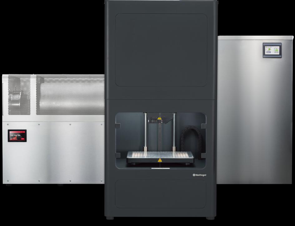 Présentation de l'imprimante 3D Markforge Metal X