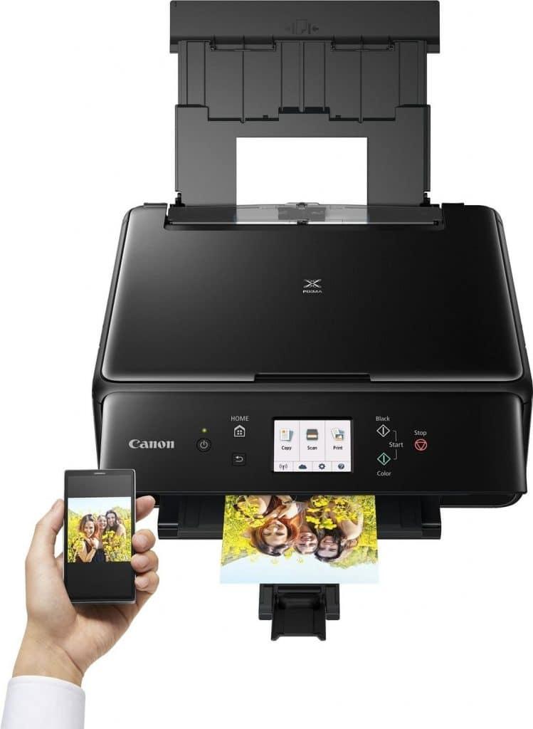 Imprimer avec le Wifi d'un mobile