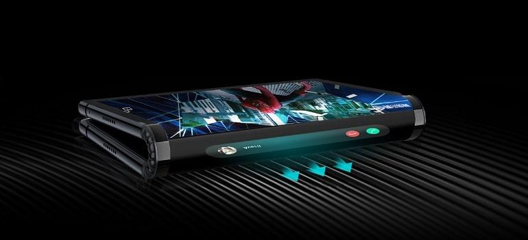 Royole lancement du 1er smartphone pliable