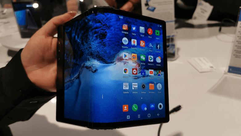 Royole le premier smartphone pliable est officiel