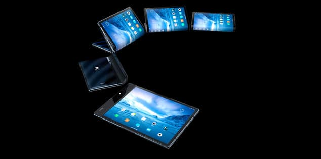 Royole premier smartphone pliable est officiel