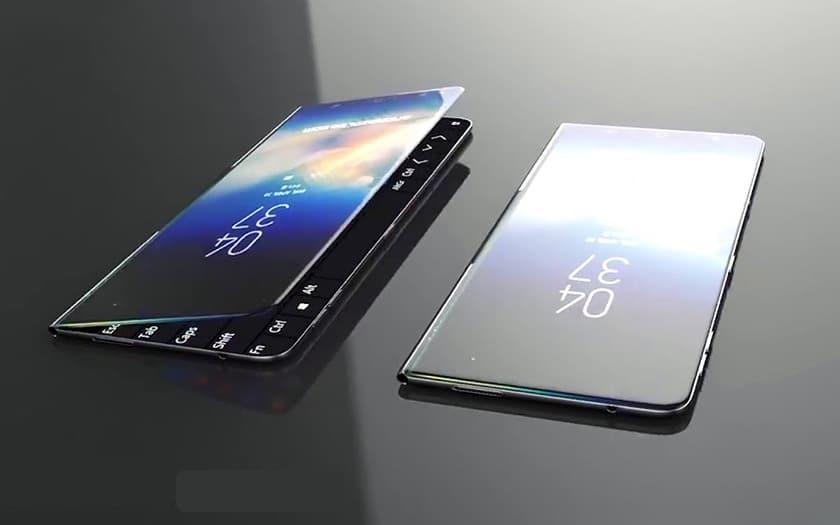 Smartphone pliable Samsung