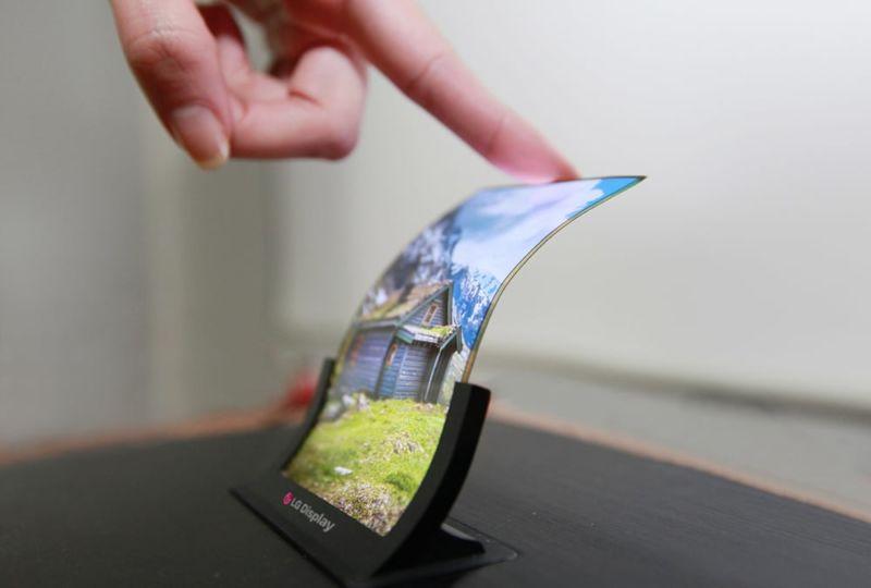 le smartphone pliable réinvente écran