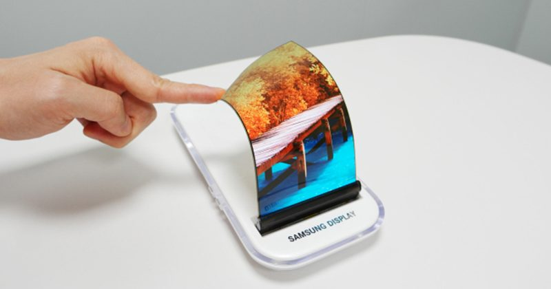le smartphone pliable réinvente l'écran