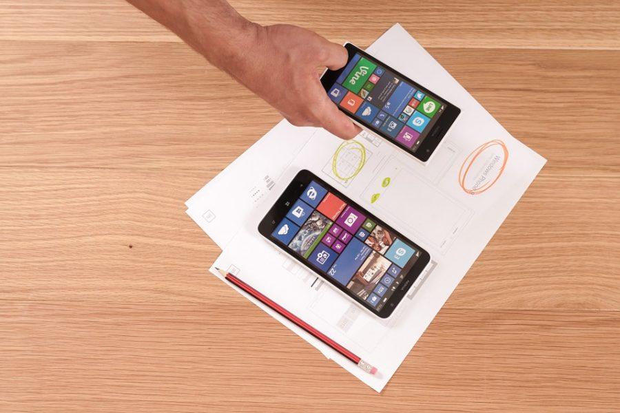 Tour d'horizon : le smartphone pliable Microsoft