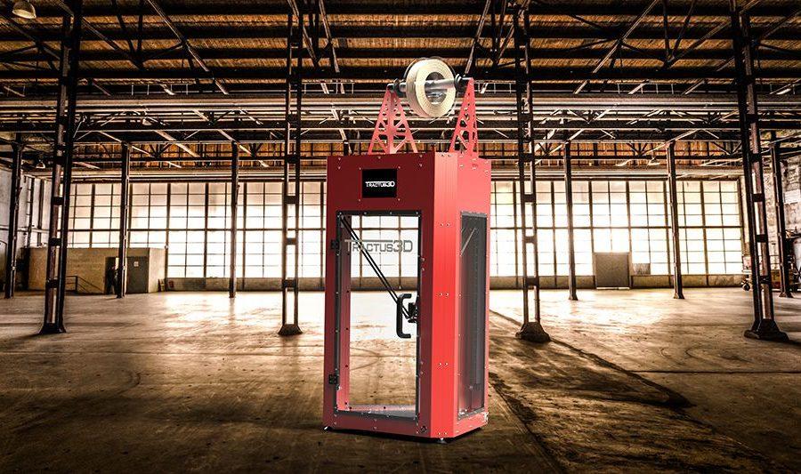 T850P, la nouvelle imprimante 3D de Tractus 3D