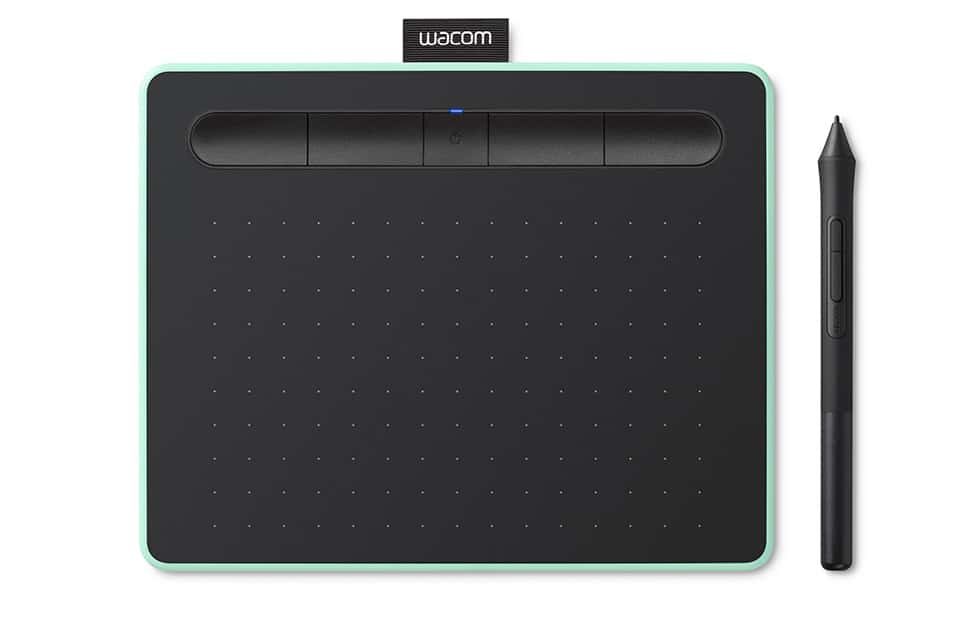 Quelles sont les caractéristiques de laWacom Intuos S ?