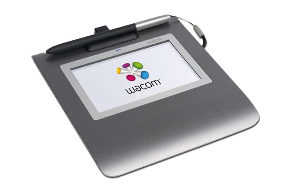 Wacom Signature Set : une tablette dédiée à la signature
