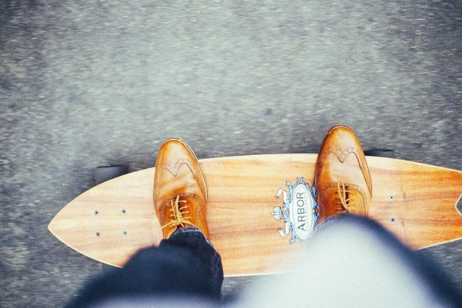 longboard skate débutant